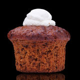 Carrot cake-muffin Royalty Free Stock Photo