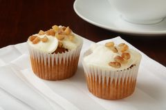 Carrot cake muffins Royalty Free Stock Photo