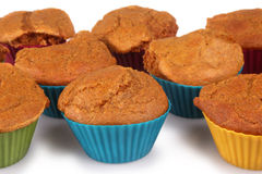 Carrot Cake Muffins Royalty Free Stock Photos