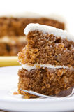 Carrot Cake Slice Stock Photos
