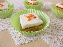 Carrot cake Royalty Free Stock Photos