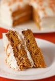 Carrot Cake Vertical Royalty Free Stock Photos