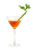 Carrot and celery cocktail Royalty Free Stock Image