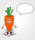 Carrot Character Stock Photography
