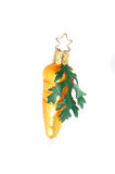 Carrot christmas tree ornament Royalty Free Stock Photography