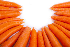 Carrot circle Royalty Free Stock Photography