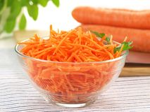 Carrot, close up Royalty Free Stock Images