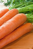 Carrot - close up view Stock Photo