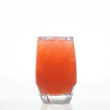 Carrot cold herbal drink in glass  Stock Images