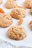 Carrot cookies Royalty Free Stock Images