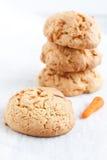 Carrot cookies Royalty Free Stock Photos