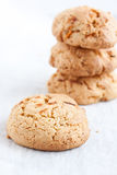 Carrot cookies Stock Photography