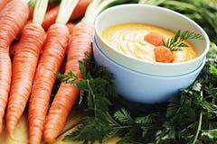 Carrot cream Stock Photo