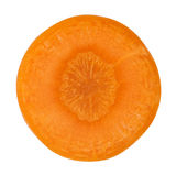 Carrot cross section Royalty Free Stock Image
