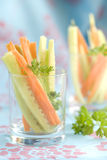 Carrot and Cucumber Appetizer Royalty Free Stock Photography