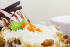 Carrot Cupcake Stock Image