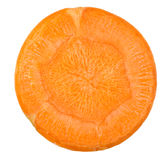 Carrot cut in slices Stock Photography