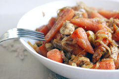 Carrot dinner Royalty Free Stock Photography