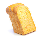 Carrot fresh bread thick sliced layers Stock Images
