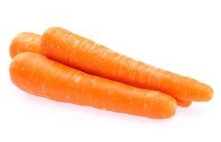 Carrot fresh vegetable. Group on white background royalty free stock image