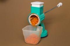 Carrot grater Stock Photo