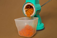 Carrot grater Royalty Free Stock Photos