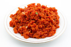 Carrot Halva Stock Photos