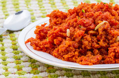 Carrot Halva Royalty Free Stock Images
