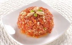 Carrot Halwa or Gajar Halwa-14 Stock Images