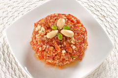 Carrot Halwa or Gajar Halwa-13 Royalty Free Stock Photo