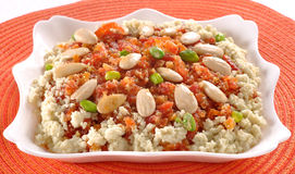 Carrot Halwa or Gajar Halwa-7 Stock Image