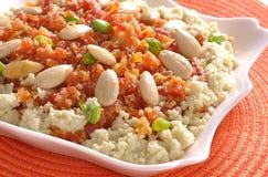 Carrot Halwa or Gajar Halwa-5 Stock Images
