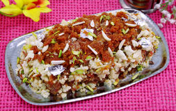 Carrot Halwa /Gajar Halwa Royalty Free Stock Photo