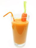 Carrot healthy vegetable juice Stock Photo