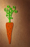 Carrot illustration Royalty Free Stock Image