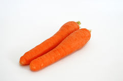 Carrot images suitable for greengrocery and cooking web sites Royalty Free Stock Photo