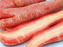 Carrot internal feature Stock Photos