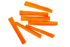 Carrot isolated Royalty Free Stock Photo