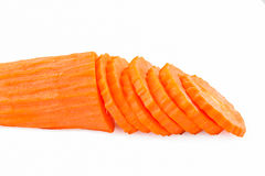 Carrot Isolated On White Stock Photo