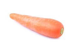 Carrot   isolated on white background. Royalty Free Stock Images