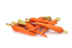 Carrot isolated in white background Royalty Free Stock Photo