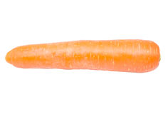 carrot isolated on white background Stock Images