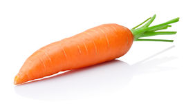Carrot isolated on withe background Royalty Free Stock Images