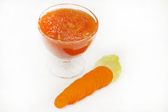 Carrot jam Royalty Free Stock Photos