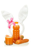Carrot juice Stock Images