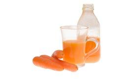 Carrot juice Royalty Free Stock Photos