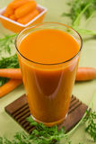 Carrot juice Royalty Free Stock Photos