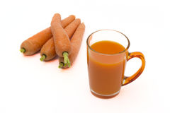 Carrot Juice Royalty Free Stock Image