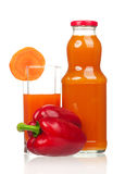 Carrot juice Royalty Free Stock Photo