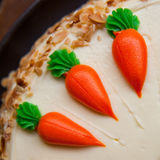 Carrot layer cake Royalty Free Stock Photography